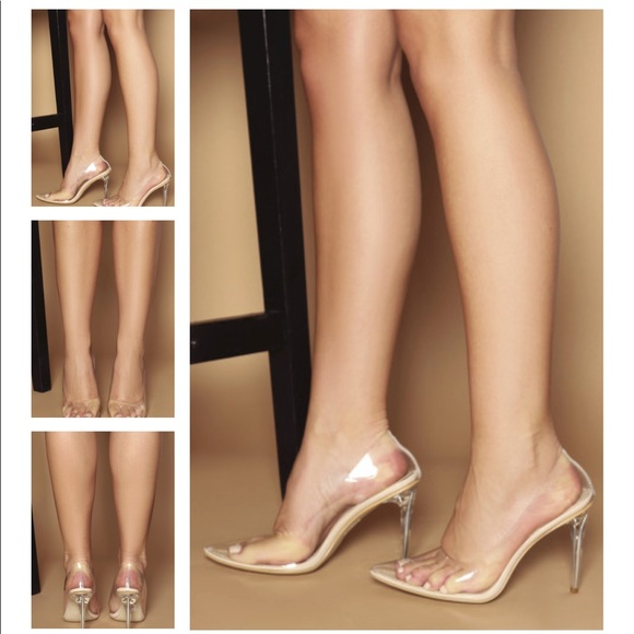2765e027eee luxe to kill Shoes - Clear Perspex heels